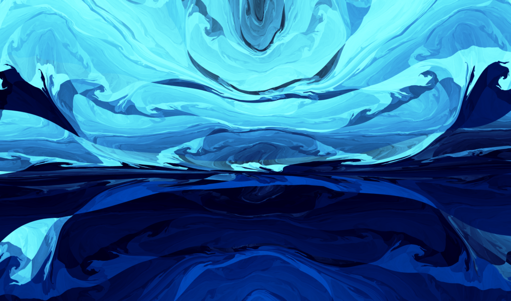 Blue Abstract Wallpaper