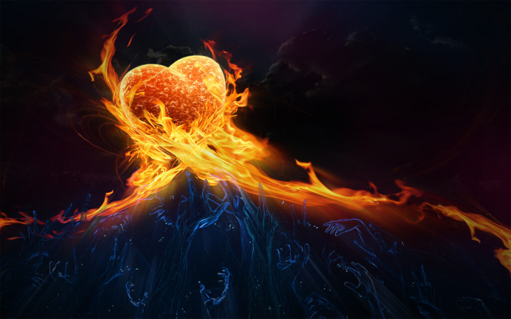 heart background images