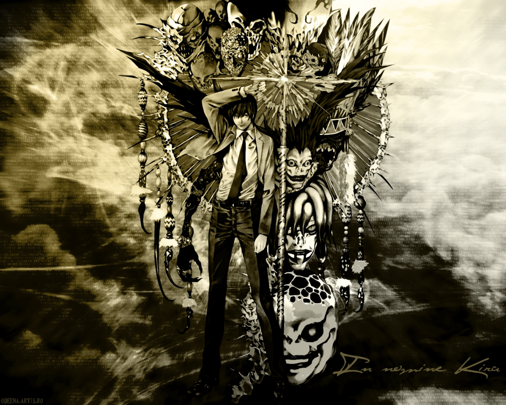 death note imagens anime wallpapers