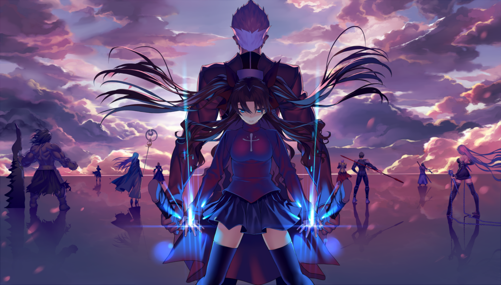 fate stay night anime wallpapers