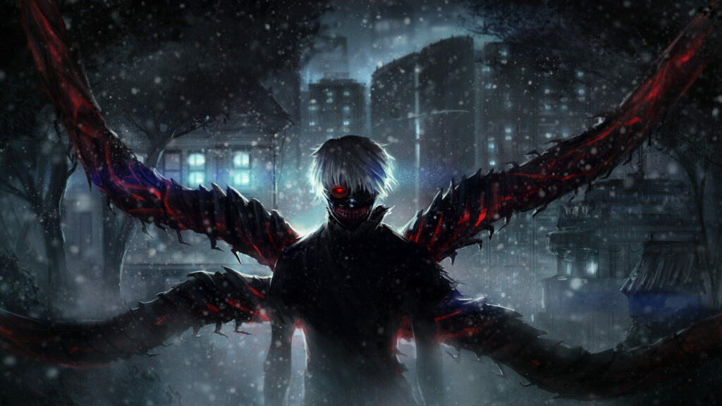 tokyo ghoul anime wallpapers