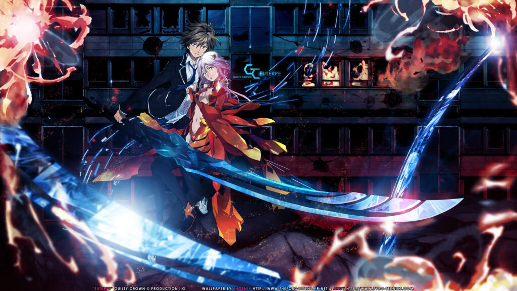 guilty crown anime wallpapers