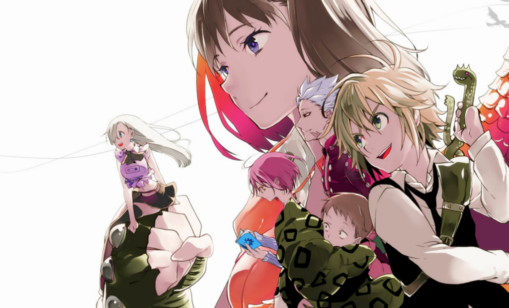 seven deadly sins anime wallpapers