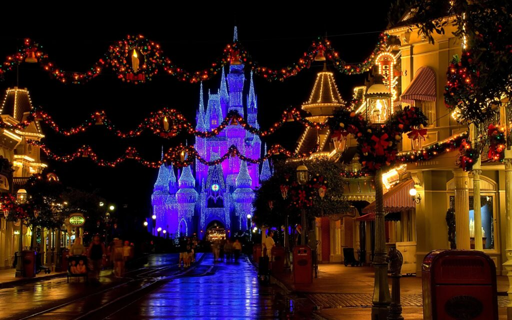 houses decoration christmas wallpapers