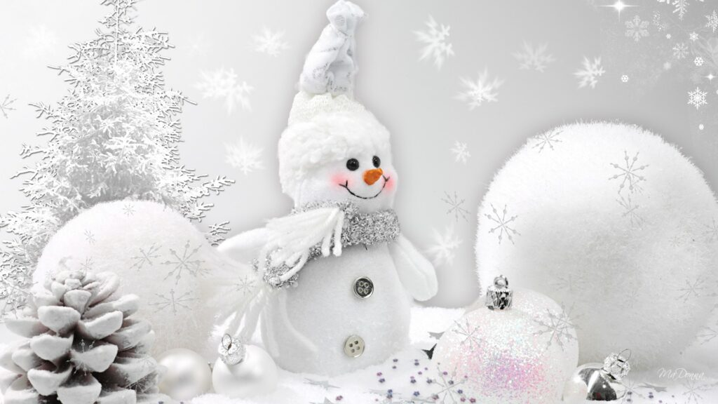 snow statue christmas wallpapers
