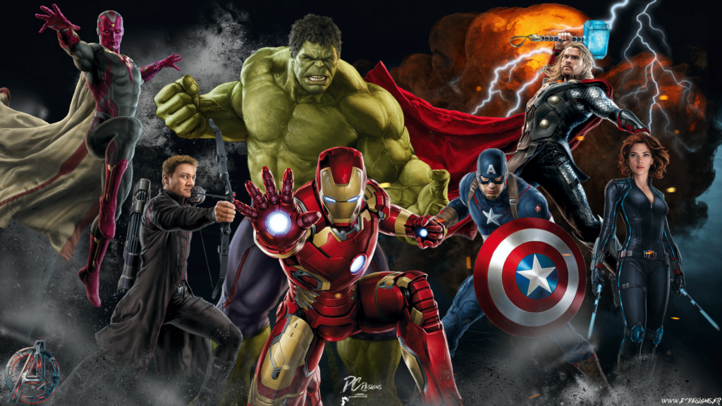 marvel characters  cool wallpapers