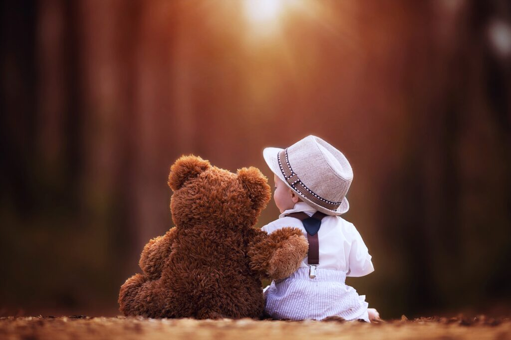 baby bear and baby cute wallpapers