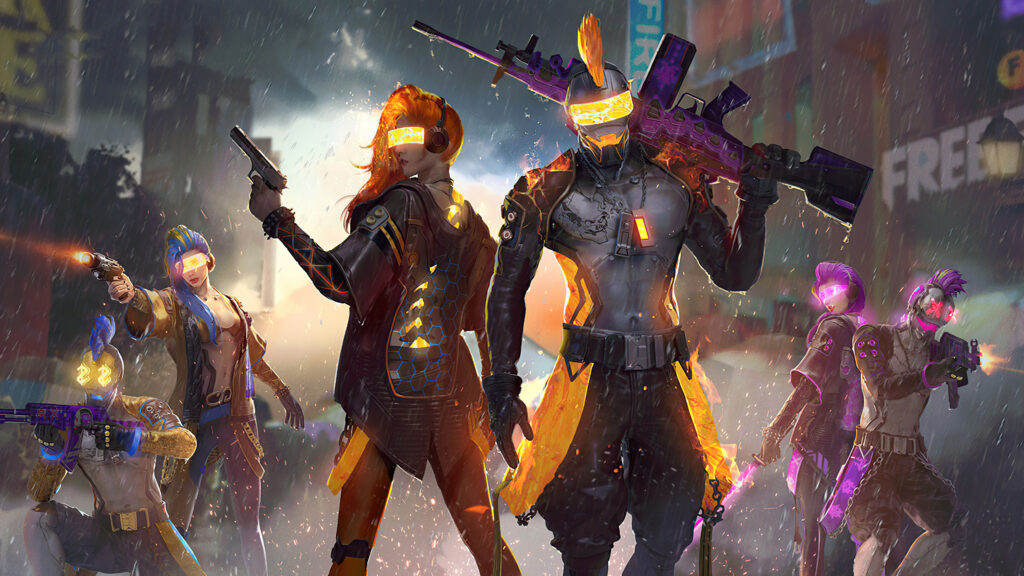 free fire wallpapers