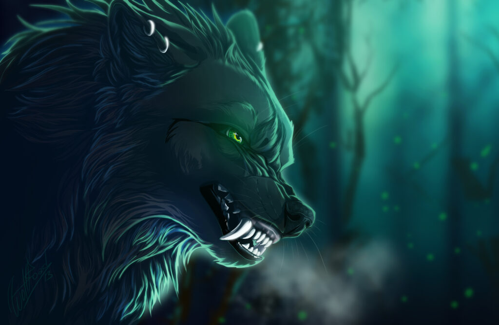 wolf green wallpapers
