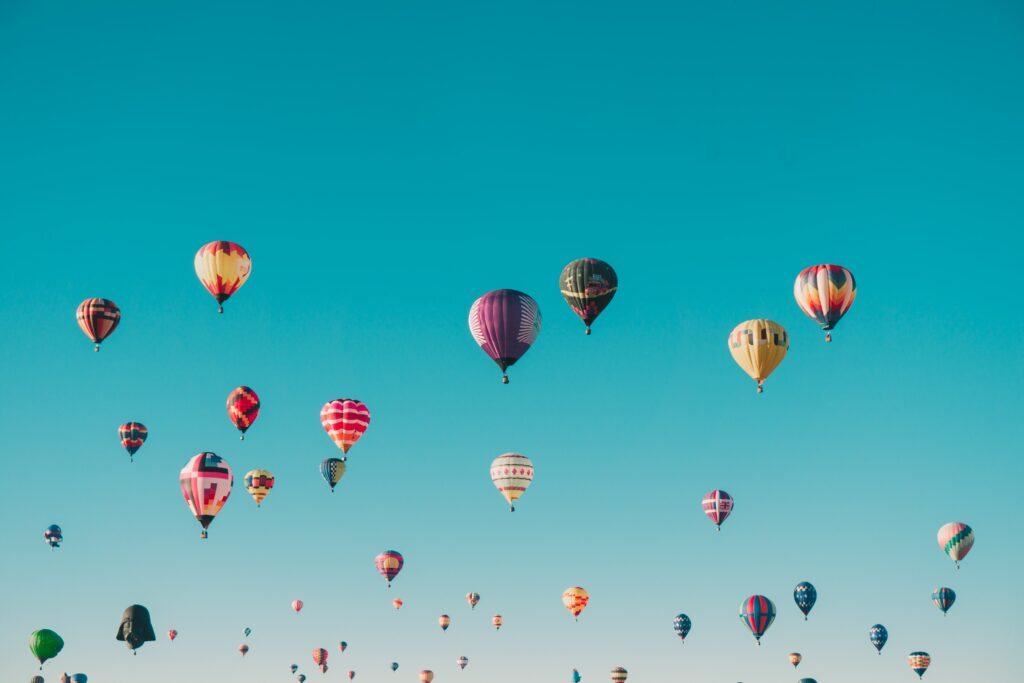 ho air balloons photo backgrounds