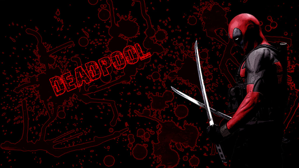 deadpool red wallpapers