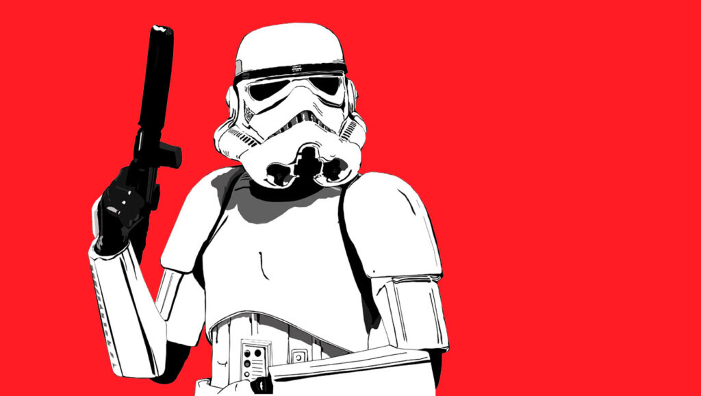 star war red wallpapers