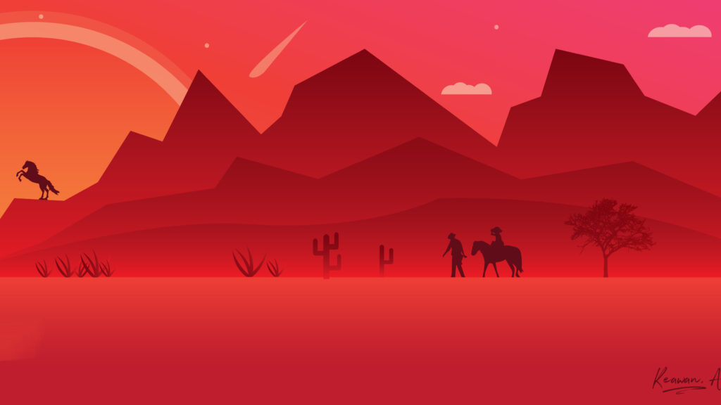 art red wallpapers