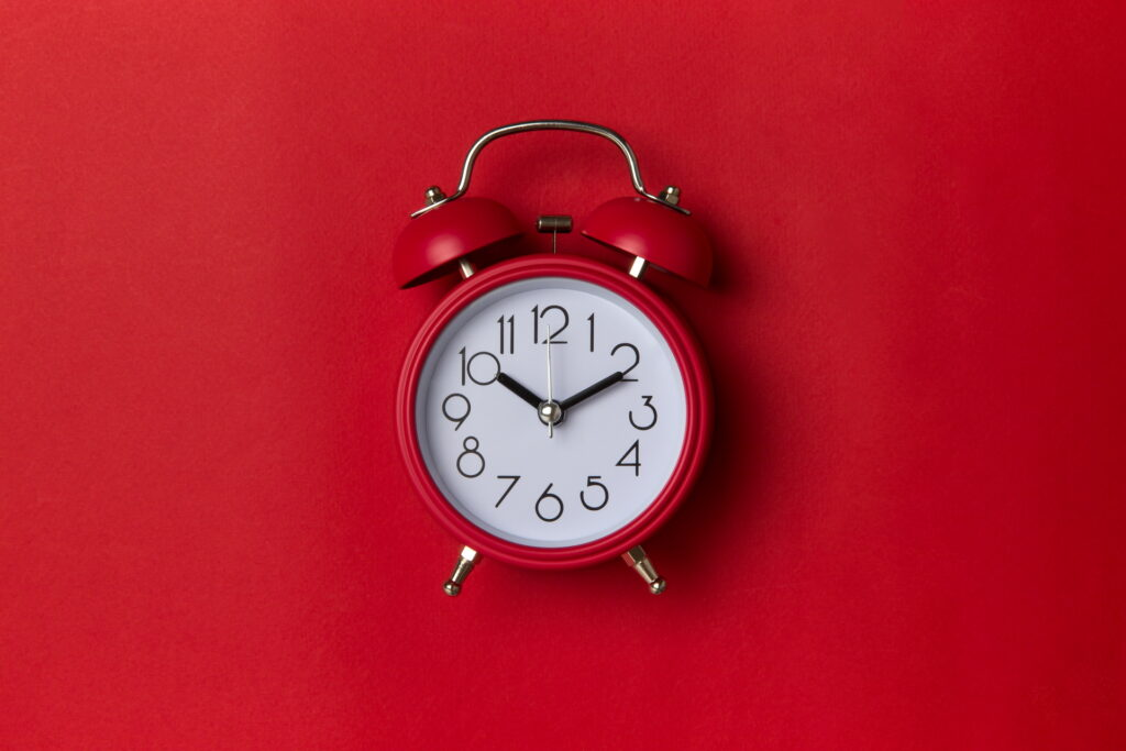 clock red wallpapers